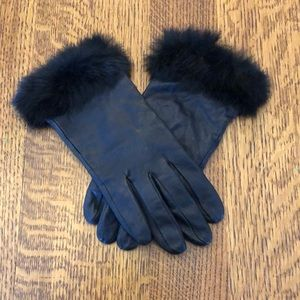 Accessories - Leather gloves with Fur